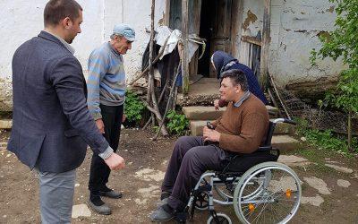 Колица за Перицу Мишић из села Луково код Сврљига