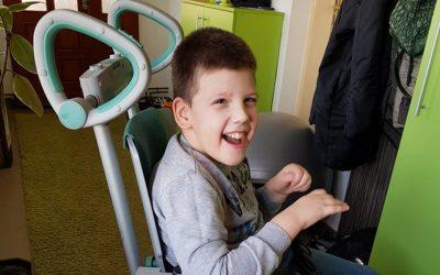 Деветогодишњи Тодор Станковић из Крушевца добио је свој скаламобил