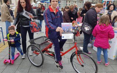 Данилка Радоњић добила свој ортопедски трицикл