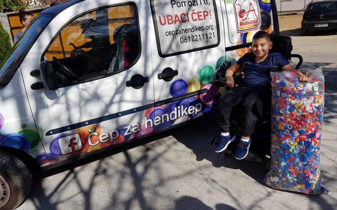Алекса Јовановић из Београда добио је електро моторна колица