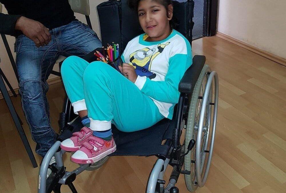 Далиборка Јовановић из Бачке Паланке добила инвалидска колица