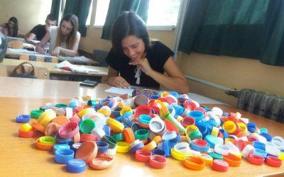 Један део пажње из економско-трговинске школе из Крушевца